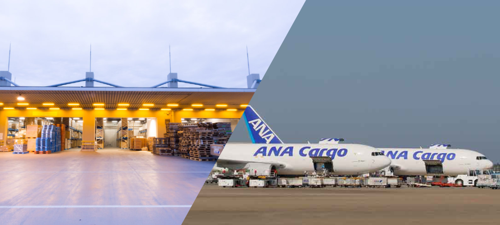 As the Logistics Division for the ANA Group, we use our years of experience to deliver ANA quality in the form of logistics services that meet the needs of our customers.